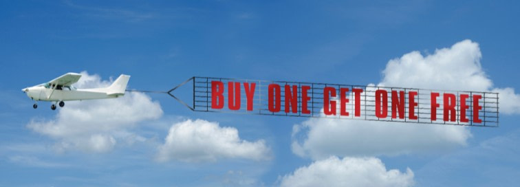 Buy One Get One FREE - BOGO